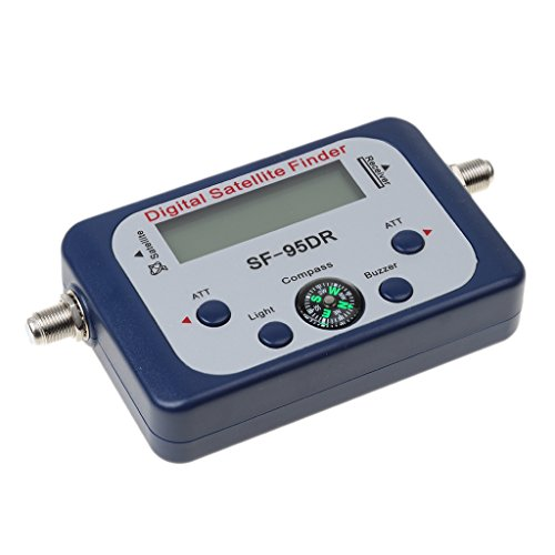 Flameer Digital Satellite Signal Meter Finder Dishnetwork Dish Compass FTA