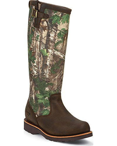 Chippewa Men's Apache Snake Boot Round Toe Apache Tan 10 D(M) US (Chippewa Apache Boots)