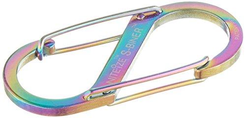 Nite Ize Size-2 S-Biner Dual Spring Gate Carabiner, Spectrum