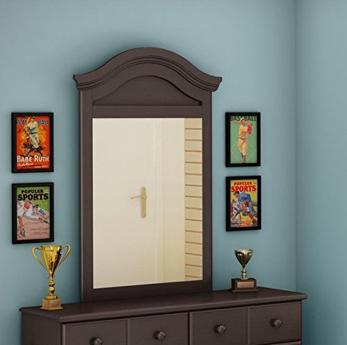UPC 066311046533, South Shore Summer Breeze Collection Mirror, Chocolate