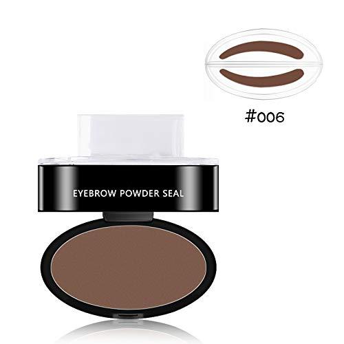 Waterproof Eyebrow Shadow Set Natural Shape Brow Powder Palette Delicated 6