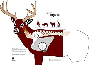 Hoppe's No. 9 Critter Target Paper, Big Buck And Deer (Pack of 5)