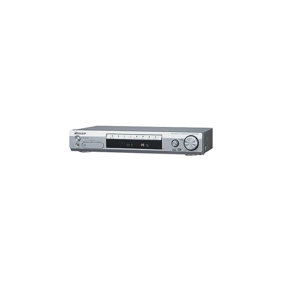 Pioneer VSX C302S Slim Design Home Theater A/V Receiver
