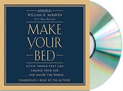 Make Your Bed Audiobook  William H  Mcraven Make Your Bed Audio Cd