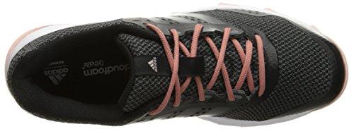 Womens Adidas Performance Duramo 7 Trail W Esecuzione Dellutilità Scarpa F16 Nero / Nero / Colore Rosa Vapore F16