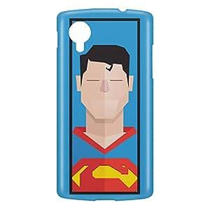 Loud Universe Nexus 5 Superman Clarke Kant Print 3D Wrap Around Case - Blue