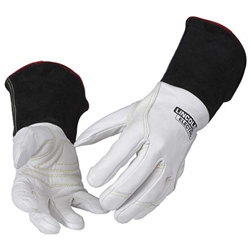 Lincoln Electric Premium TIG Welding Gloves | Top Grain Leather | High Dexterity | Large | K2983-L