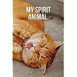 My Spirit Animal: Ginger Cat Journal