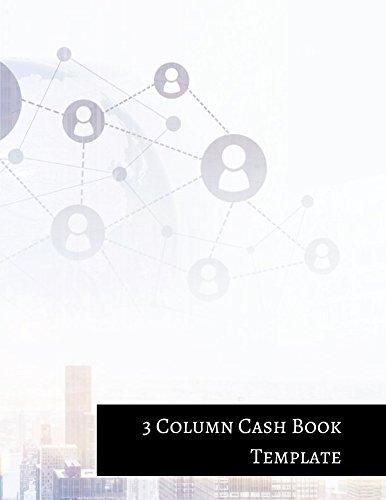 3 Column Cash Book Template