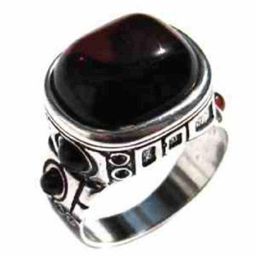 Mens Amber Ring - 9