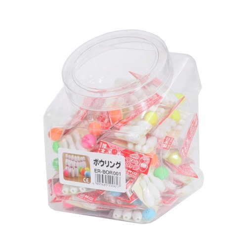 SCERBOR001 60 pcs Iwako eraser bowling (japan import)