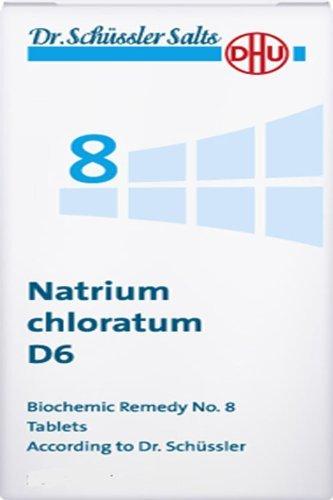 Dr. Schuessler salts 8 Natrium chloratum D6 balance of body Fluids diarrhoea 200 tbs by DHU