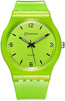 [子供] クォーツ腕時計 学生 レジャー 防水ウォッチ ラウンドラバーピンバックルストラップ P