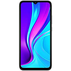 Redmi 9 (Carbon Black, 4GB RAM, 128GB Storage) | 5000 mAh| 2.3GHz Mediatek Helio G35 Octa core Processor