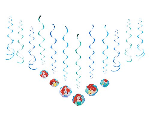 American Greetings The Little Mermaid Hanging Party Decorations (Little Mermaid Decorations)