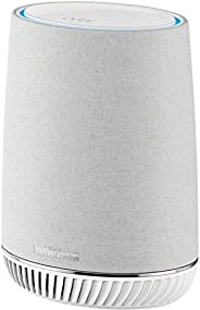 NETGEAR Orbi Voice Whole Home Mesh WiFi Satellite Extender - with Amazon Alexa and Harman Kardon Speaker Built in, AC2200 (RB