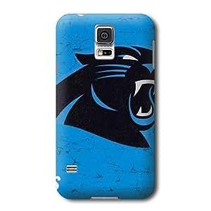 S5 Case, NFL - Carolina Panthers Distressed Alternate - Samsung Galaxy S5 Case - High Quality PC Case