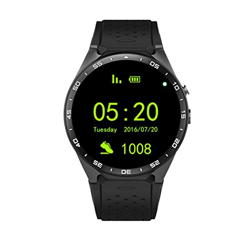 Circle Smart Watch WIFI Step Heart Rate GPS Positioning smart watch ()