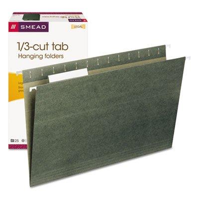 Hanging-Folders-13-Tab-11-Point-Stock-Legal-Green-25Box