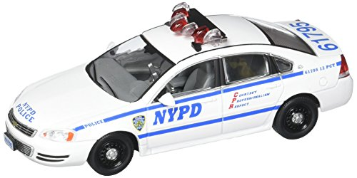 GreenLight Blue Bloods Nypd Chevy Impala Diecast (Blue Police Car)