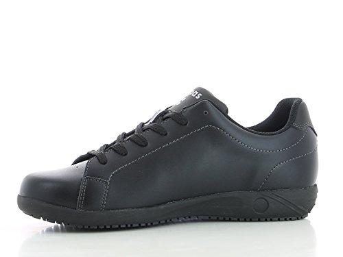 oxypas Evan Zapatillas de seguridad (piel, ESD, SRA Color Negro, Talla 39