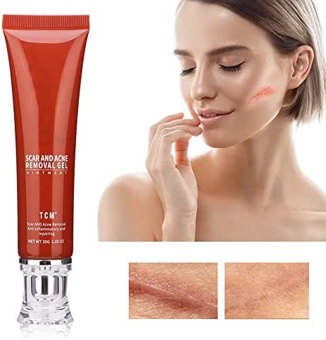 30ml Natural Scar Removal Cream, Repair and Improving Scars Appearance and Color, Body Face Repair Cream for Acne, Cuts, Stretch Marks, C-sections and Surgeries Scar