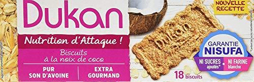 (Dukan Diet Oat Bran Cookies, Coconut, 7.9  Ounce)