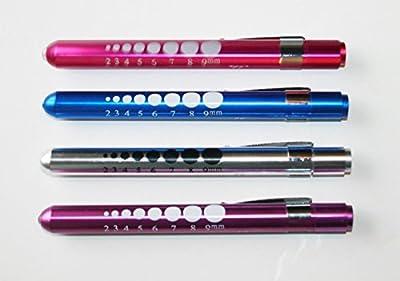 For Doctor Nurse Emergency First Aid Penlight Pen Flashlight Torch 2X - 4 pk