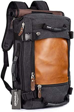 Overmont Backpack Capacity Shoulder Suitcase