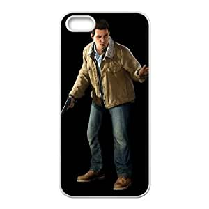 infamous second son iPhone 5 5s Cell Phone Case White xlb2-365903