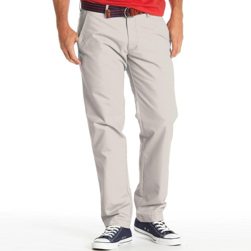Haggar Men's Life Slim Fit Flat Front Chino Casual Pant,