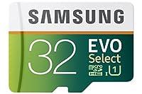 Samsung 32GB 80MB/s EVO Select Micro SDHC Memory Card (MB-ME32DA/AM)