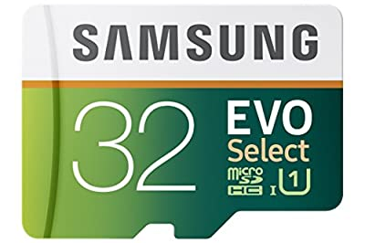 Samsung 32GB 80MB/s EVO Select Micro SDHC Memory Card (MB-ME32DA/AM) from Samsung Electronics DAV