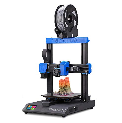 Artillery Genius 3D Printer – 3D Printer with I3 High-Precision Desktop Dual Z-Axis 98% Integrity TFT Screen Mute…