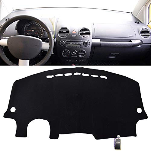 - XUKEY Dashboard Cover for Volkswagen VW Beetle 1998-2010 Dash Cover Mat