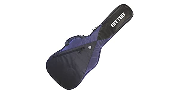 Amazon.com: Ritter rgp5-e Elec Guitar Bag/Case for electrica-bajo Reflective Logo, Blue: Musical Instruments
