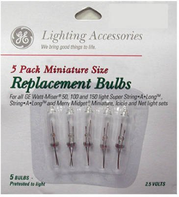Bulbs midget replacement christmas