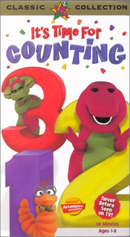 Barney: It's Time for Counting [VHS] by Universal Studios Home Entertainment