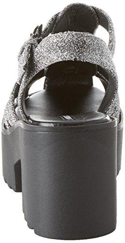 Donne Smith Lurex Sandali Cinghia D'argento Delle Arella Windsor argento Caviglia 001 q06n7ABBw