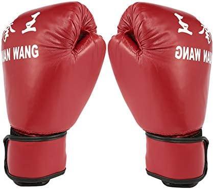 IBISHITAOXUNBAIHUOD Adulte Gants de Boxe Professionnelle Kickboxing Gants Homme Femme Formation de Combat Excellent Outil pour Sparring Kickboxing Formation de Combat