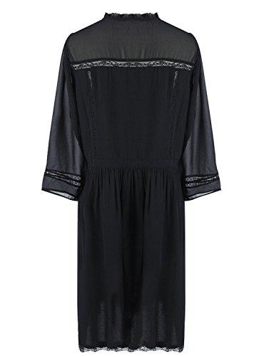 Schwarz Naf Schwarz Naf Kleid Naf Damen Damen Naf Kleid Naf qFx6BnwEnO