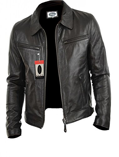 Leather Two Pocket Jacket - 2