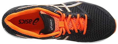 ASICS - Gel-phoenix 7, Zapatillas de Running hombre Negro (black/silver/hot Orange 9093)