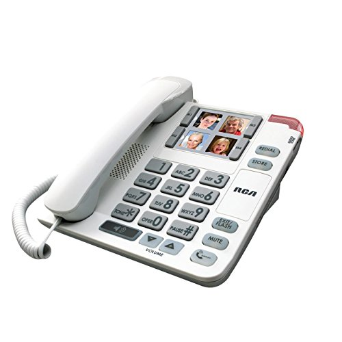 Amplified Big Button Speakerphone-Photo Dialing-20dB
