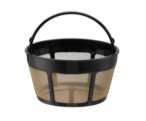 Replacement for Cuisinart GTF-B Permanent basket GoldTone Coffee FIlter 8-12 Cup ()