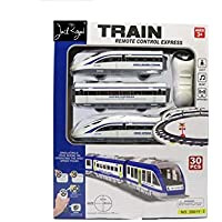 Jack Royal Simulation Model Remote Control High Speed Bullet Train with Lights & Music (30 Pcs)