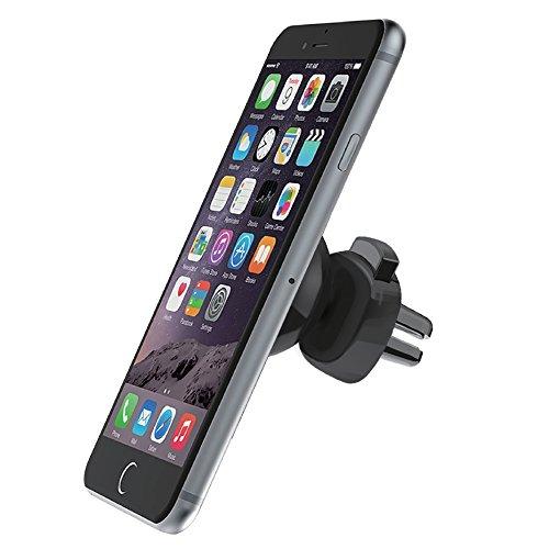 OSO Magnet Mount Universal KFZ Auto Handyhalterung für Apple iPhone 6/6S/6 Plus/5/5S/5C Samsung Galaxy HTC One M8 M9 & Other Smartphones - Schwarz