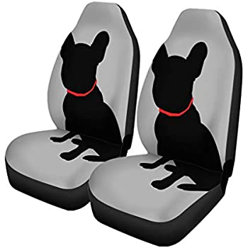 Simply Cool Trends Scottish Terrier Print Car Seat Covers