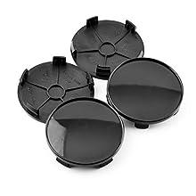 4 pcs 69mm Black Wheel Center Caps Base