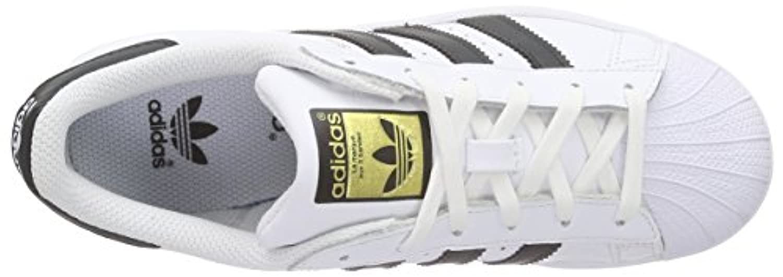 adidas Superstar, Boys' Trainers, Multicolor (Ftwwht/Cblack/Ftwwht), 3 UK